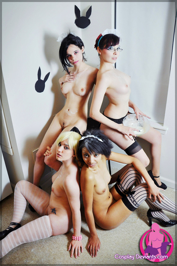 messy-maids-naked-cosplay-deviant