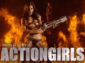 Naked Actiongirls